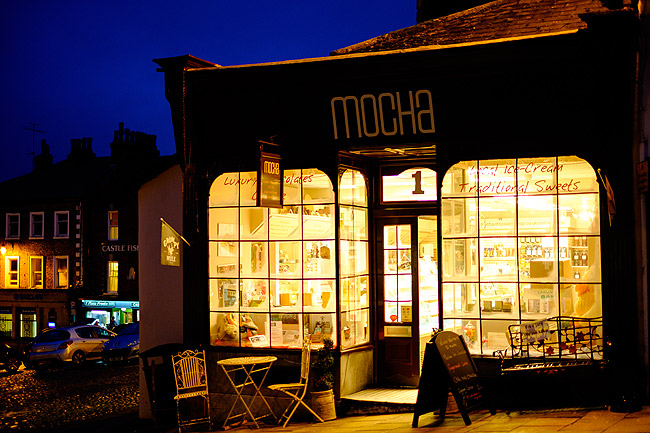 Mocha Chocolate Shop