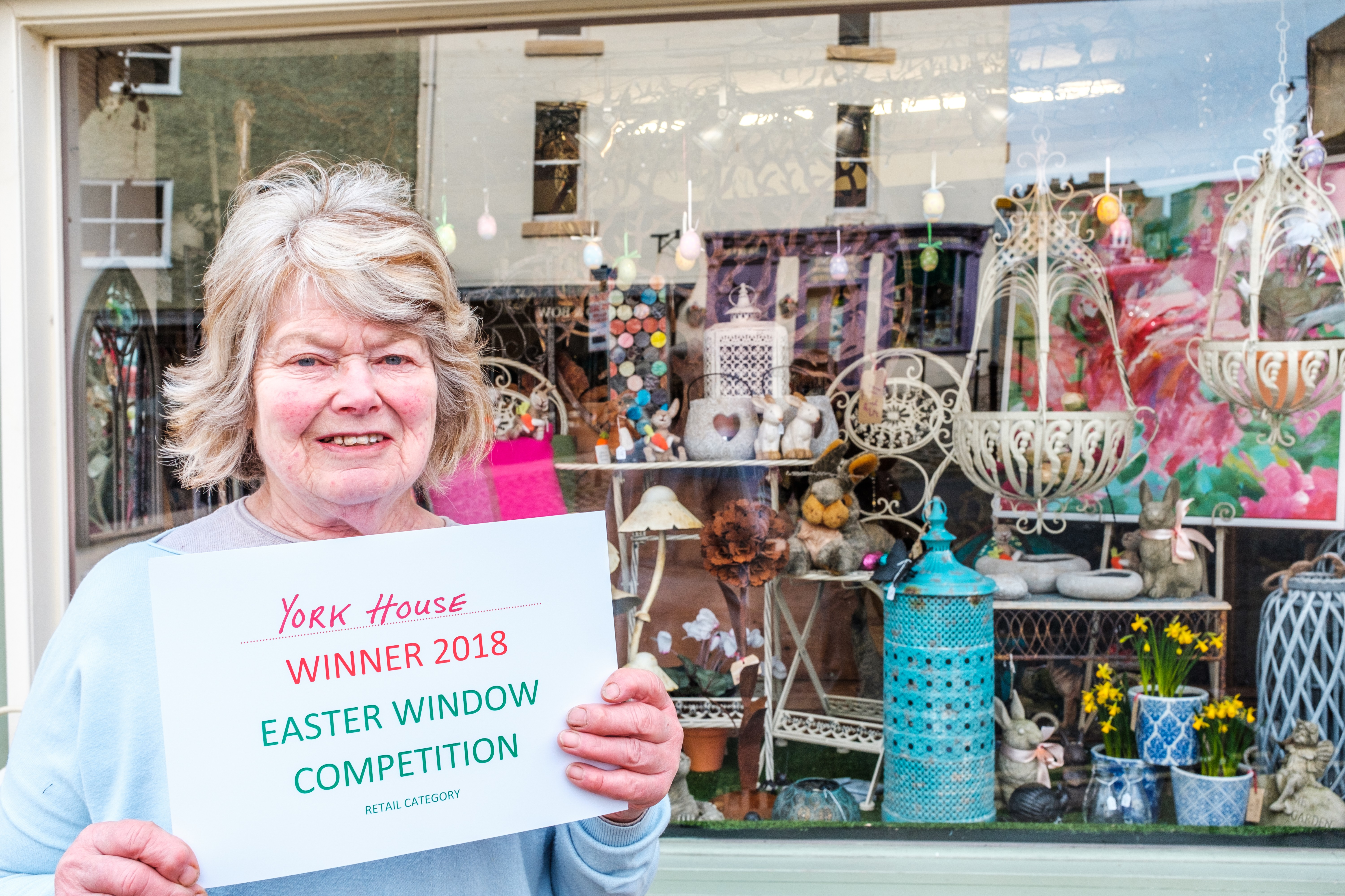 Solve the Clues in Richmond's Easter Window Trail