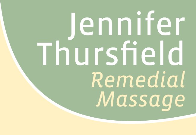 Jennifer Thursfield Remedial Massage